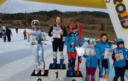 Magdalena Major wicemistrzynią Krakowa w narciarstwie alpejskim